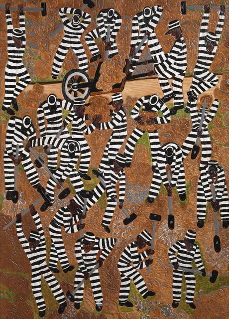 , 'Cracking Rocks,' 2011, Adelson Galleries