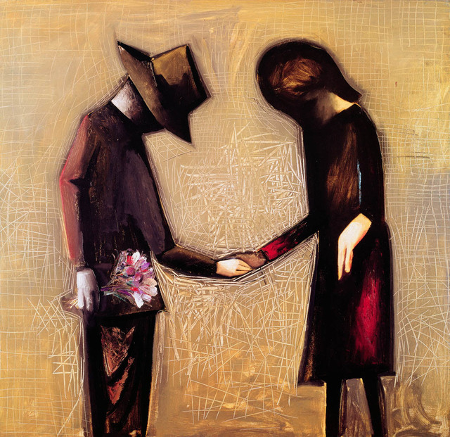 Charles Blackman, 'The Meeting', 1961, Angela Tandori Fine Art
