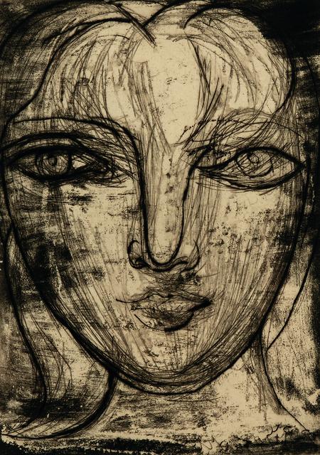 "Pablo Picasso, 'Portrait de Marie-Thérèse de face', 1934, Print, Aquatint with etching and drypoint on laid paper with ""RICHARD de BAS"" watermark, Skinner"