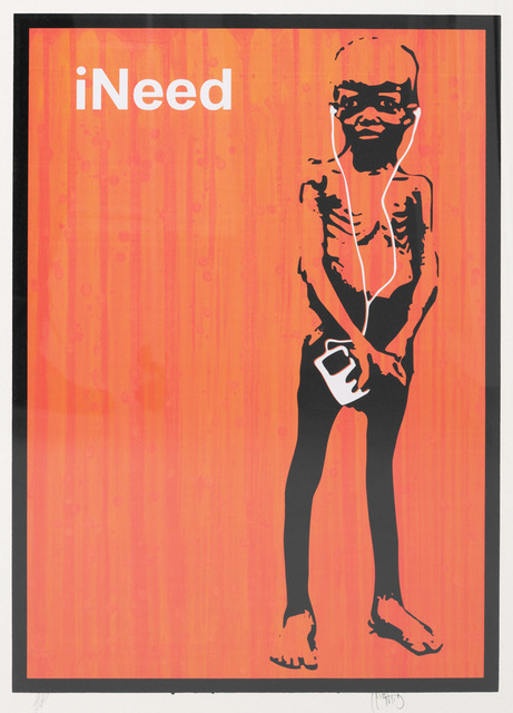 , 'iNeed (Orange),' 2006, Robert Fontaine Gallery
