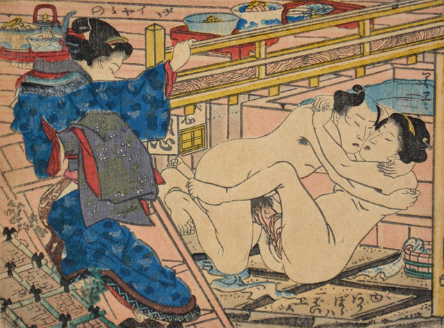 , 'After Hot Bath,' ca. 1850, Ronin Gallery
