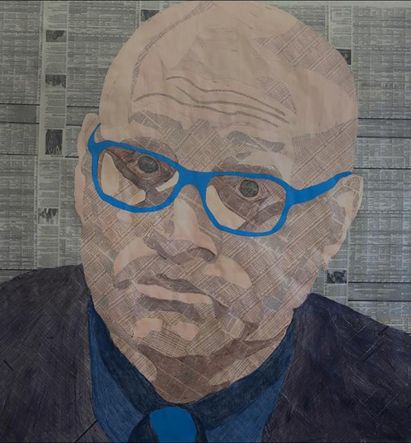, 'Larry Wilmore,' 2016, Paraphé