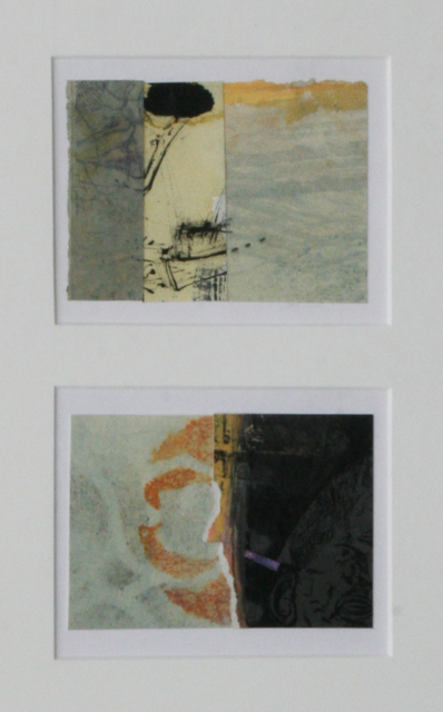 , 'Collage #66 & #80 (diptych),' , Wallace Galleries
