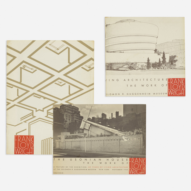 'collection of printed materials relating to Frank Lloyd Wright', Photography, Printed paper, gelatin silver print, Rago/Wright