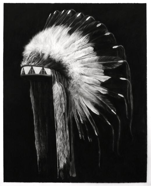 Robert Longo, 'Study of Plains Indians (Lakota Tribe)', 2019, Metro Pictures
