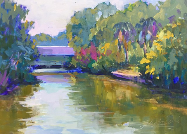 , 'Hudson Bayou Serenity,' 2019, 530 Burns Gallery