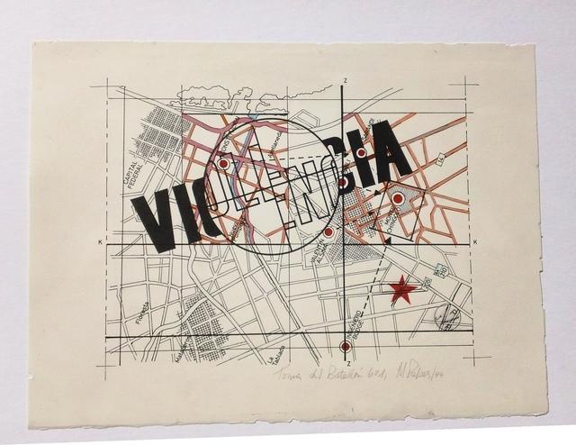 , 'Violencia (de la serie Toma del Batallon 601),' 1975, Document Art