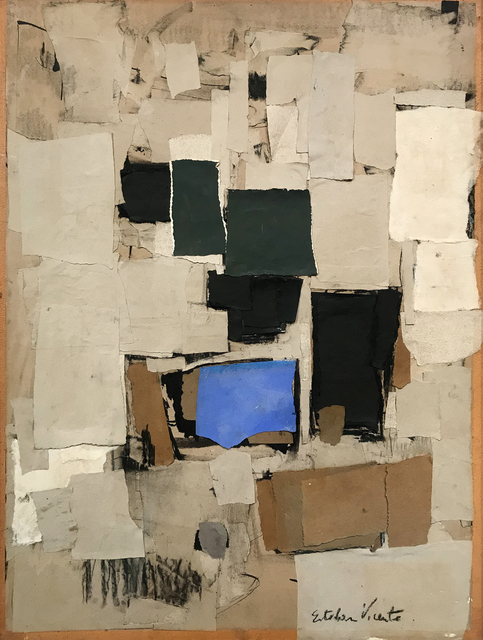Esteban Vicente, 'Collage #11, ', 1957, Jill Newhouse Gallery