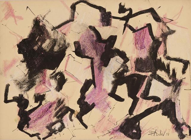 , 'Purple Zeus,' 1951, Hollis Taggart Galleries