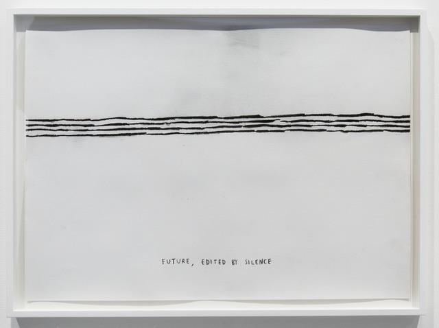 , 'Future, Edited by Silence,' 2015, Carroll / Fletcher