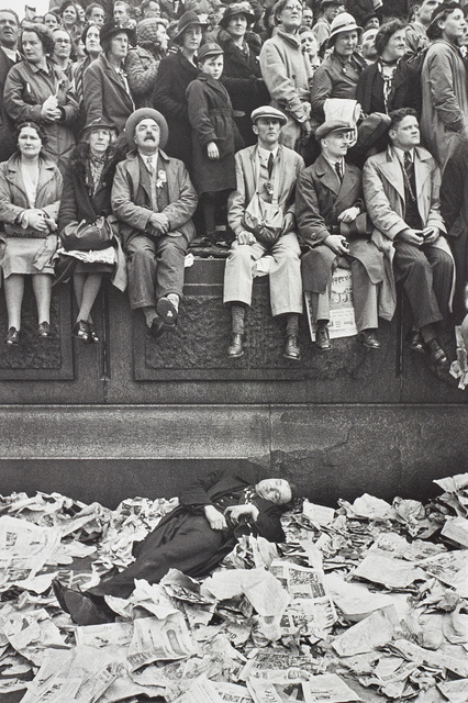Henri Cartier-Bresson, 'Trafalgar Square on the day of the Coronation of King George VI, London', 1937, Phillips