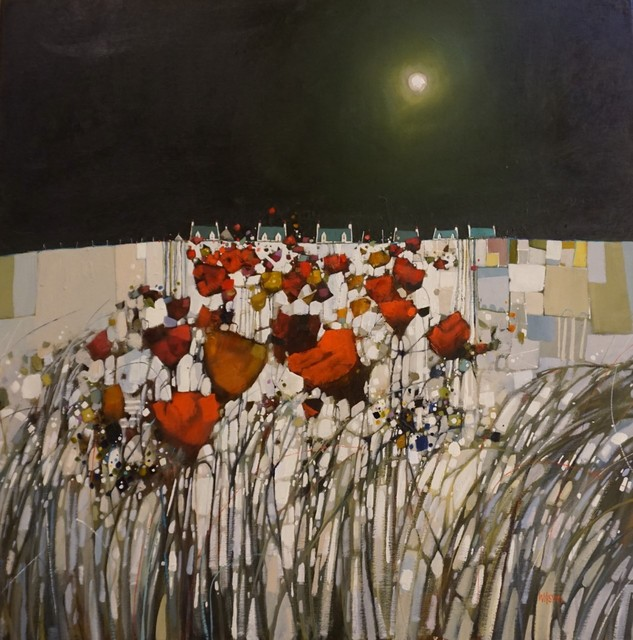, 'Moon Bathed Comrie Community,' 2018, The Lemond Gallery