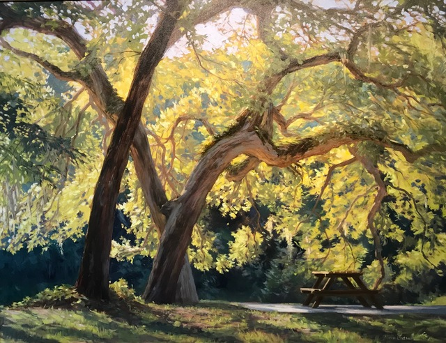 , 'Golden Oak,' 2018, Anderson Fine Art Gallery