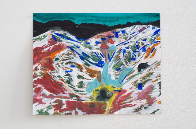 , 'Alpine (Green Sky),' 2013, Fleisher/Ollman