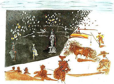 Salvador Dalí, 'La Statue (The Statue)', Print, Etching, Puccio Fine Art