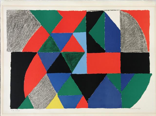 Sonia Delaunay, 'Polyphonie', 1970, Dellasposa