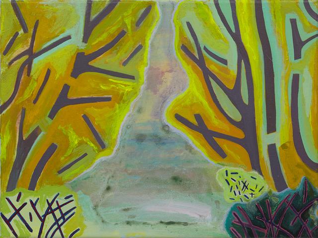, 'Trees, Bushes, Pond,' 2017, Freight + Volume