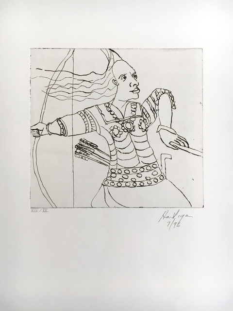 , 'Queen of the Amazons,' 1996, C. Grimaldis Gallery