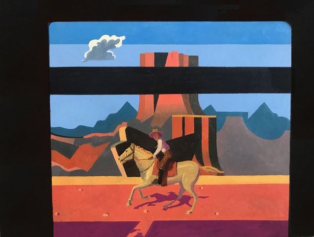 , 'Train Robbery Scene 2,' 2017, Visions West Contemporary