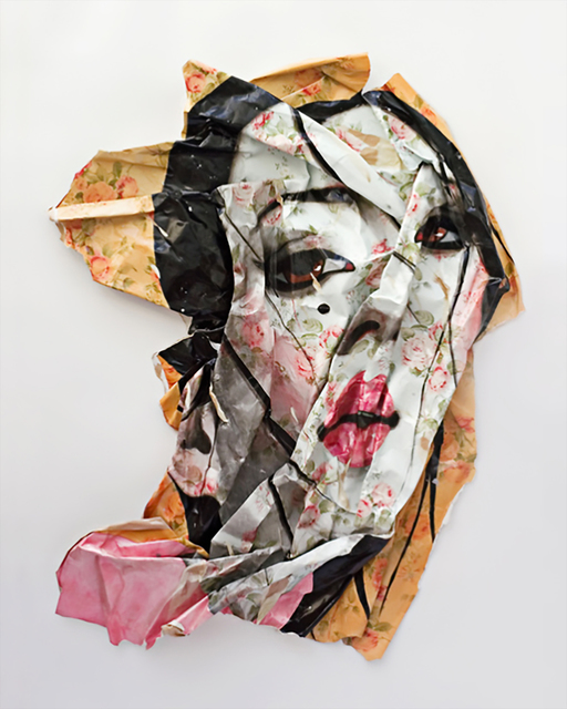 , 'Wallpaper Diptych,' 2008, Serena Morton