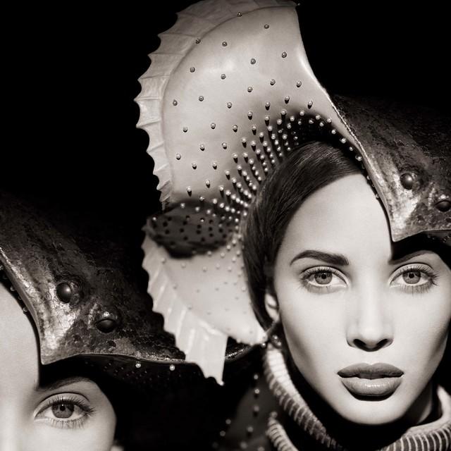 , 'Christy Turlington, Manta Ray, New York,' 1987, Fahey/Klein Gallery