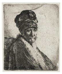Bust of a Man Wearing a High Fur Hat [the Artist's Father?]