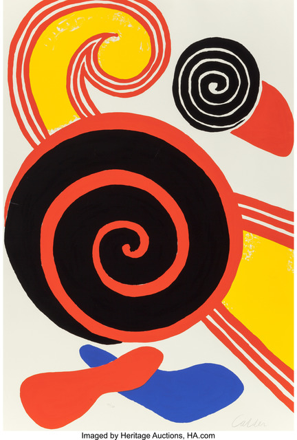 Alexander Calder, 'Untitled (Suns and Swirls)', c. 1970, Heritage Auctions
