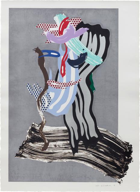 Roy Lichtenstein, 'Grandpa, from Brushstrokes Figure Series', 1989, Phillips