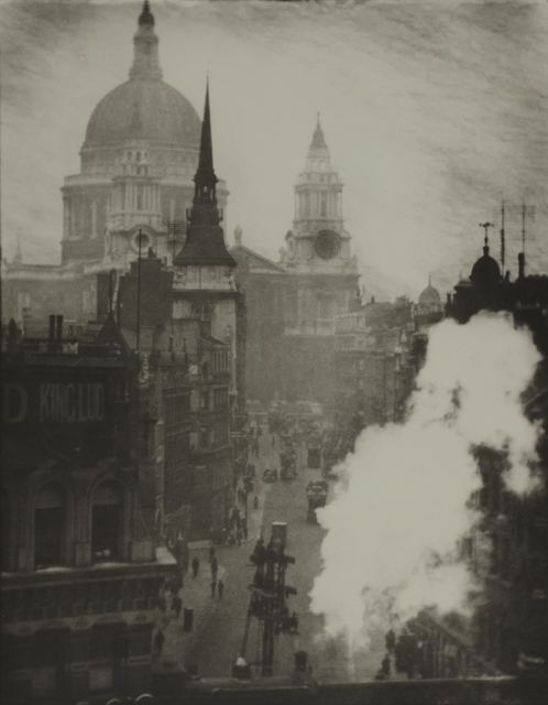 Alvin Langdon Coburn, 'St. Paul's Cathedral from Ludgate Hill, London', ca. 1905, °CLAIR Galerie