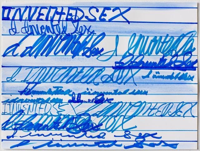 , 'I Invented Sex,' 2016, Resource Art