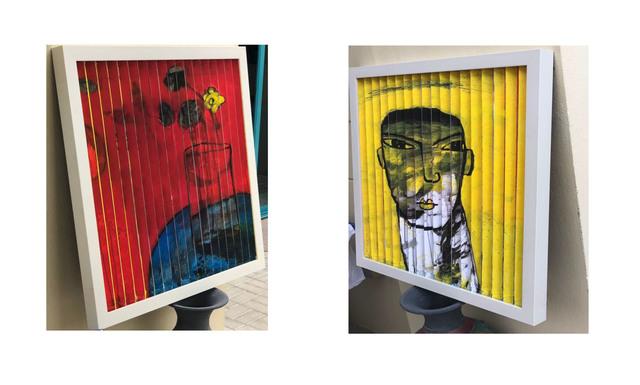 , 'Me and Yellow Rose / أنا و الوردة الصفراء,' 2018, al markhiya gallery