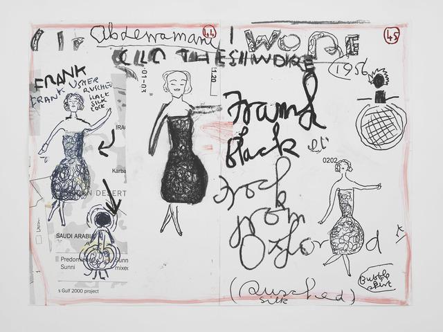 , 'Clothes I Wore #1,' 2019, David Zwirner
