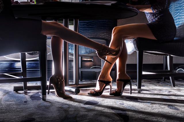 David Drebin, 'Kissing Legs', Art Angels