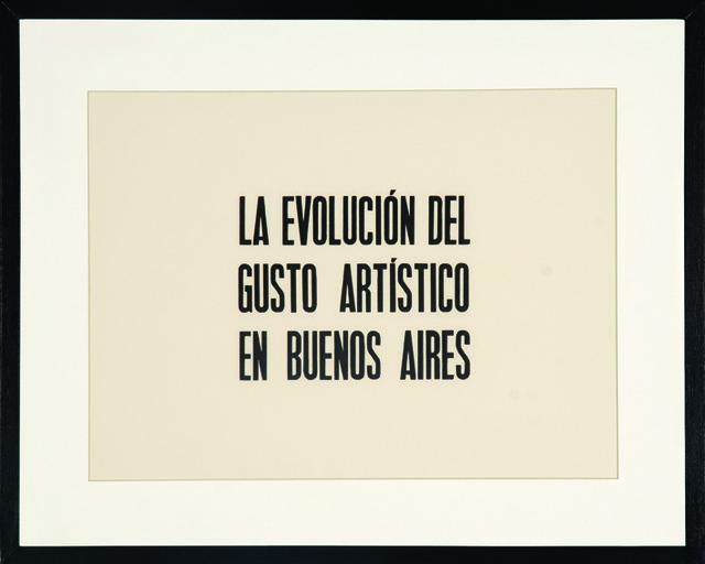 , 'La evolución del gusto,' 2013, Abate Galería