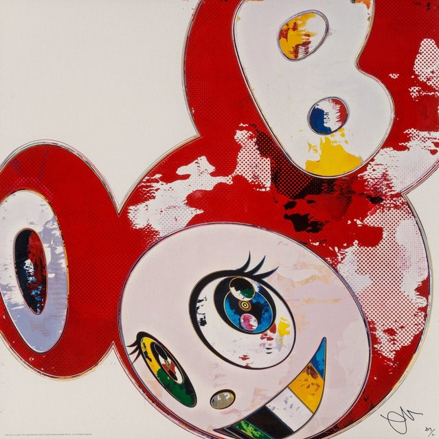 Takashi Murakami, 'And Then x 6 (Red: The Polke Method)', 2013, Heritage Auctions