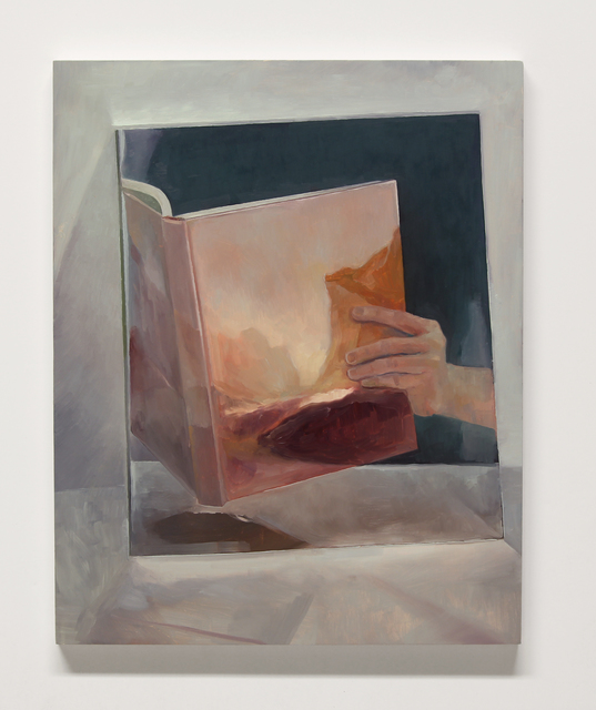 , 'untitled (Bierstadt book),' 2017, InLiquid