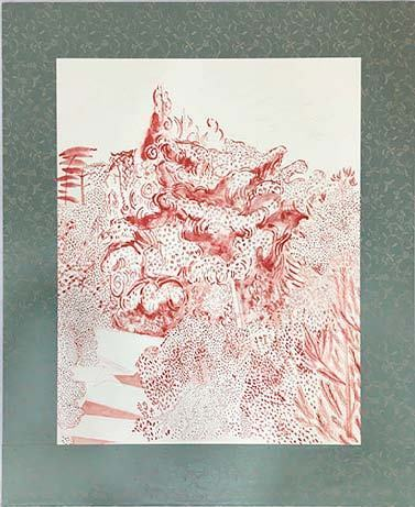 , 'Real/Red drawing #2,' 2004, Gallery OUT of PLACE