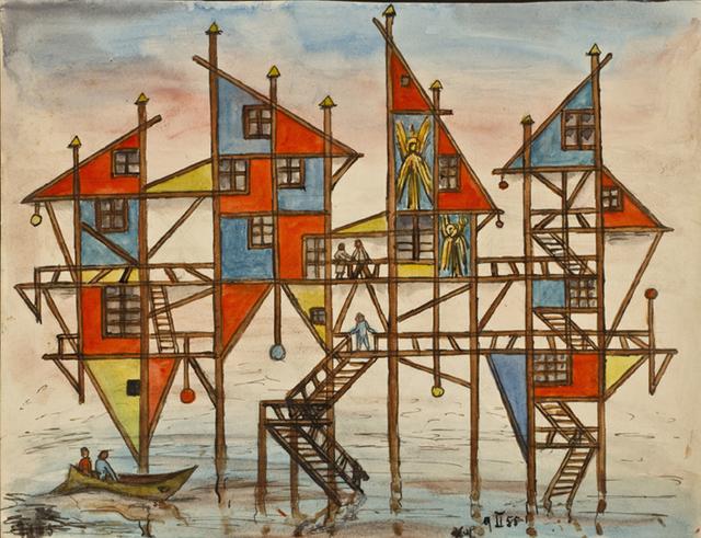 , 'Proyecto Delta,' 1955, Galería Rubbers Internacional