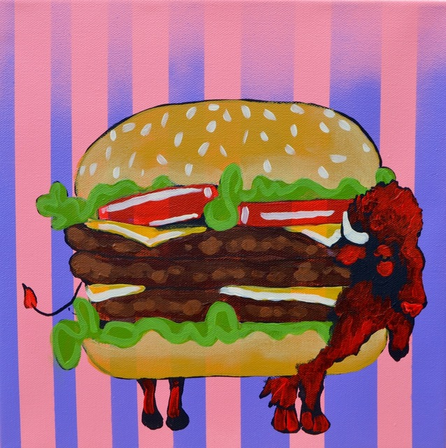 , 'BUFFALO BURGER STUDY PHASE 3,' 2016, Tansey Contemporary