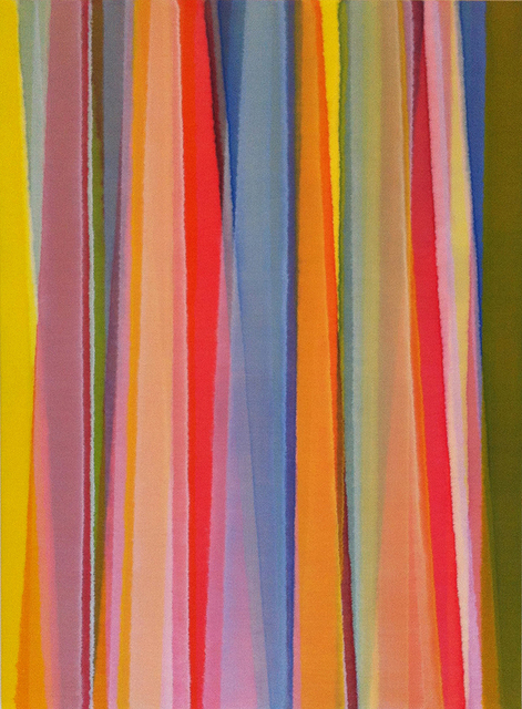 , 'Vertical Stripes Nineteen,' 2014, Charles Nodrum Gallery