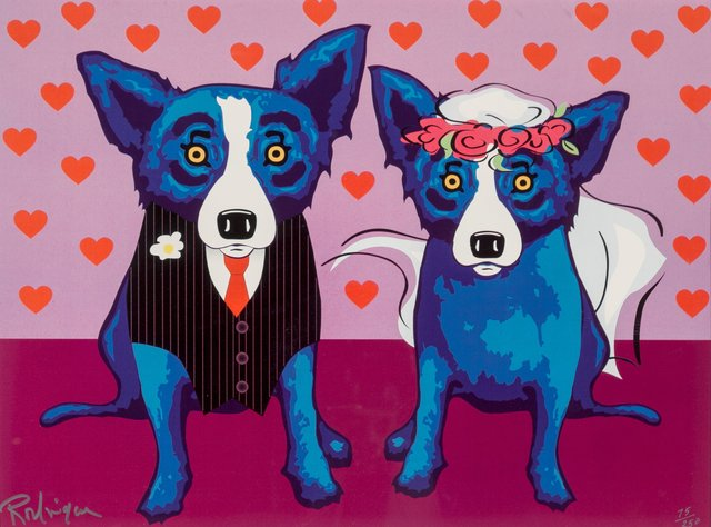 George Rodrigue, 'The Newlyweds', 2007, Heritage Auctions