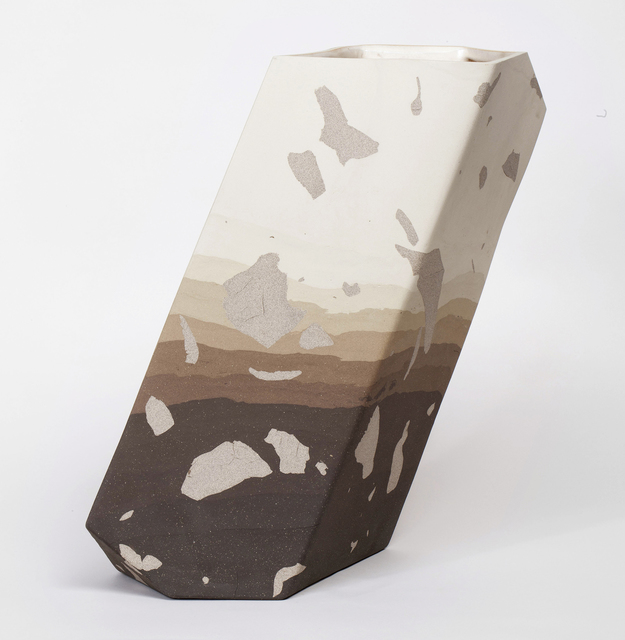 , 'Tall Oblique Vessel,' 2014, Patrick Parrish Gallery