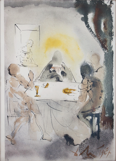 Salvador Dalí, 'And They Recognized Him In The Breaking Of The Bread', 1964-1967, Studio Mariani Gallery