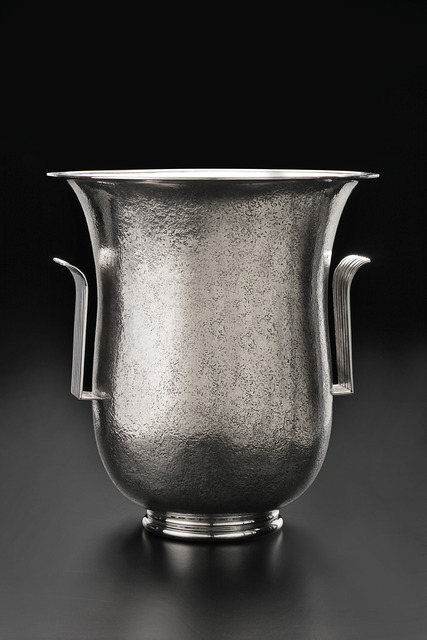 , 'Art Deco Hammered Vase,' ca. 1930, Fine Art Silver