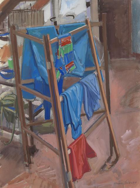 , 'Clothes Horse,' 1981, Waterhouse & Dodd