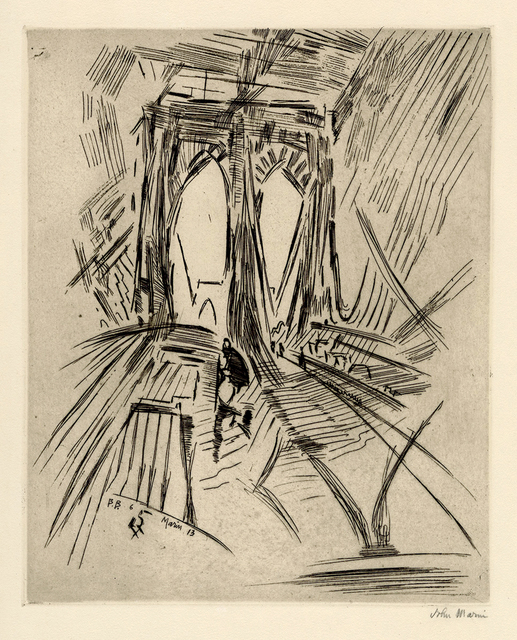 , 'Brooklyn Bridge No. 6 (Swaying),' 1913, Keith Sheridan, LLC