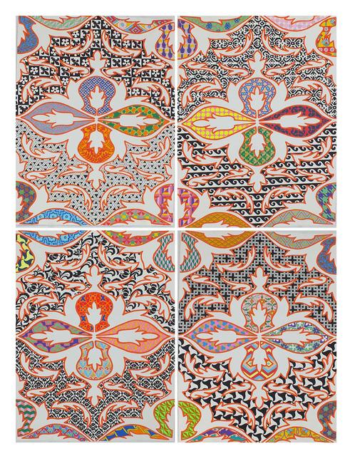 , 'Sin Titulo (poliptico 4 piezas) /Untitled (polyptych 4 pieces),' 2013, Galeria Enrique Guerrero
