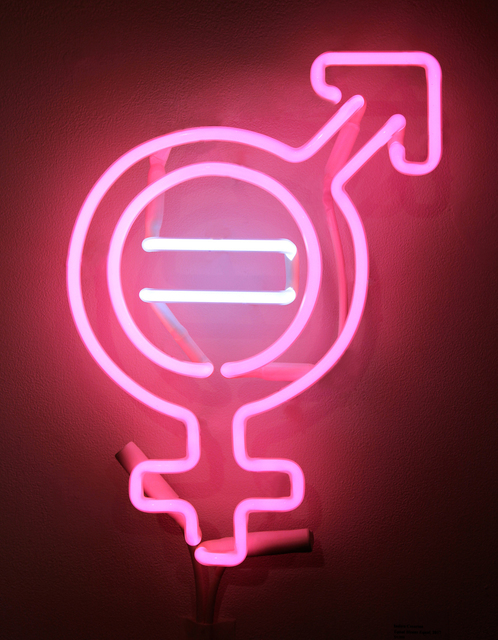 Indira Cesarine, 'Equal Means Equal', 2017, Art for ACLU Benefit Auction
