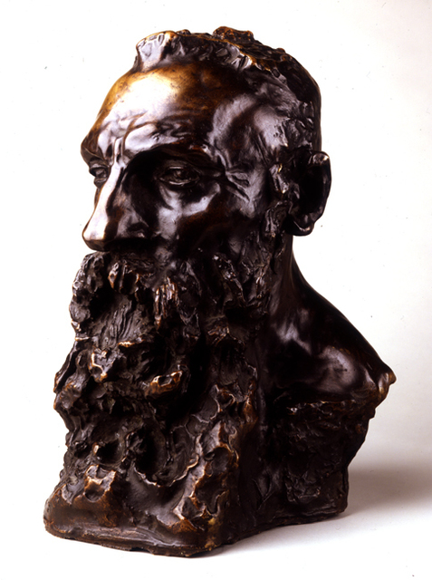 Camille Claudel, 'Bust of Rodin', ca. 1889, Museo Soumaya
