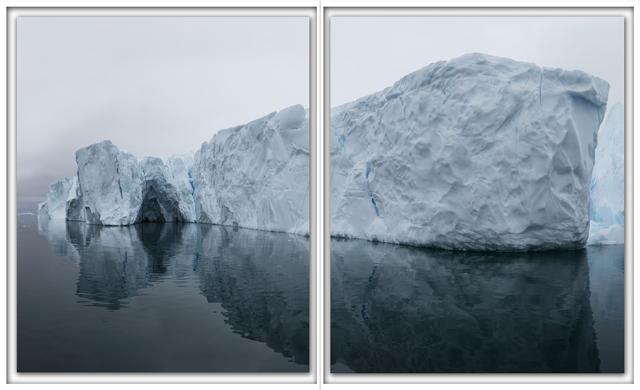 ", 'Ilulissat 15, 07/2015, 69° 12' 18"" N, 51° 10' 17"" W,' 2015, Galerie Nikolaus Ruzicska"